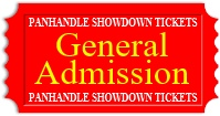 General Admission Show Tickets