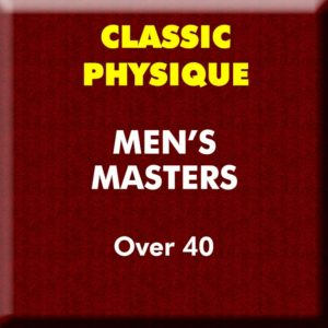 Mens Classic Physique Masters Over 40