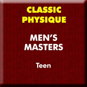 Mens Classic Physique Masters Teen