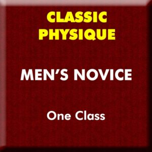 Mens Classic Physique Novice