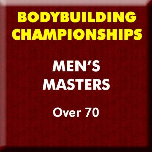 Mens Bodybuilding Masters Over 70
