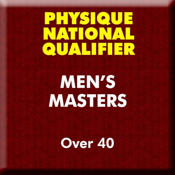 Men Physique Masters Over 40