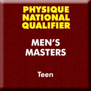 Mens Physique Masters Teen