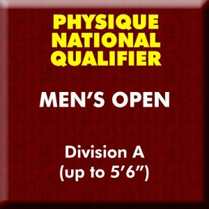 Men's Physique Open Division A