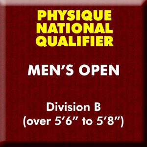 Men's Physique Open Division B