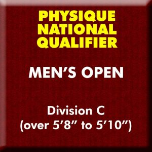 Men's Physique Open Division C