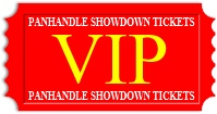 Admission Ticket for the VIP showing