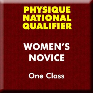 Womens Physique Novice